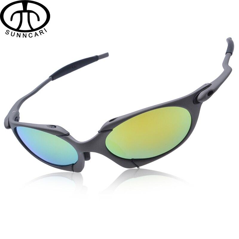 Prix pour WUKUN lunettes de Soleil Hommes Polarisé Vélo Lunettes Alliage Cadre Sport Équitation Lunettes oculos de ciclismo gafas CP002-4