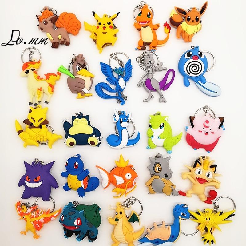 anime-cartoon-font-b-pokemon-b-font-key-chain-pvc-cosplay-pikachu-snorlax-charizard-cute-novelty-funny-pendant-gifts-women-children-keyrings