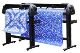 cutting plotter with optical eyes 1300mm free ship to Brazil include FLEXI software