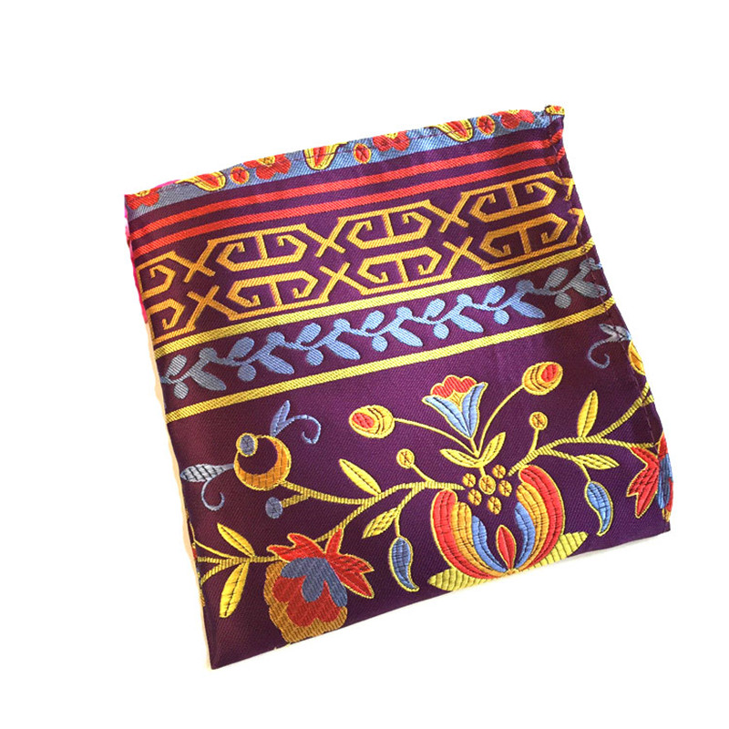 European And American Fashionable And Elegant Polyester Pocket Towel  FY1807110503