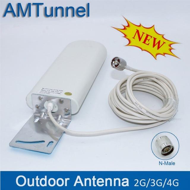 4G Anten 3G 4G ngoài trời antene 4G tăng áp ăng ten Ăng-ten GSM 20dBi ăng ten gắn ngoài cho di động tăng cường tín hiệu Router