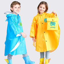 Kocotree Raincoat for Children Cartoon Kids Girls Rainproof Rain Coat Waterproof Poncho Boys Rainwear Kindergarten Baby Rainsuit(China)