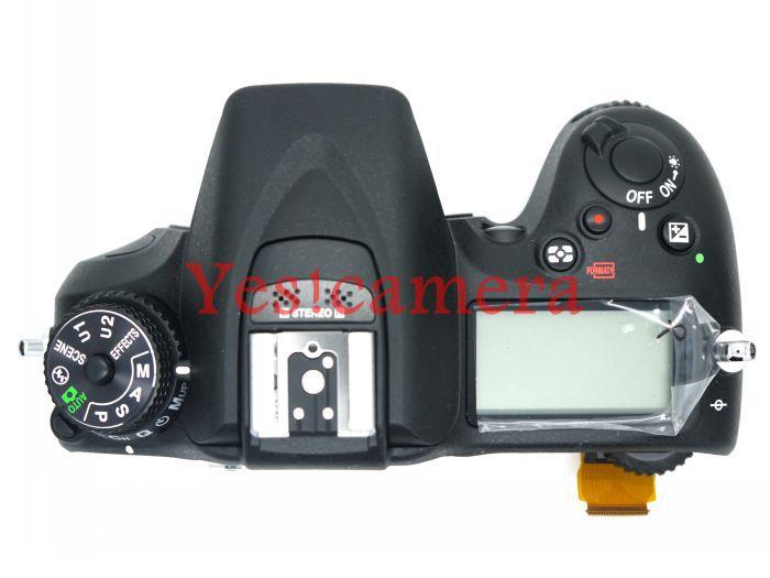 bilder für NEUE Original Top Abdeckung Shell Einheit mit top lcd, flash-board, flexkabel FPC Für Nikon D7100 Kamera ersatz Ersatzteile