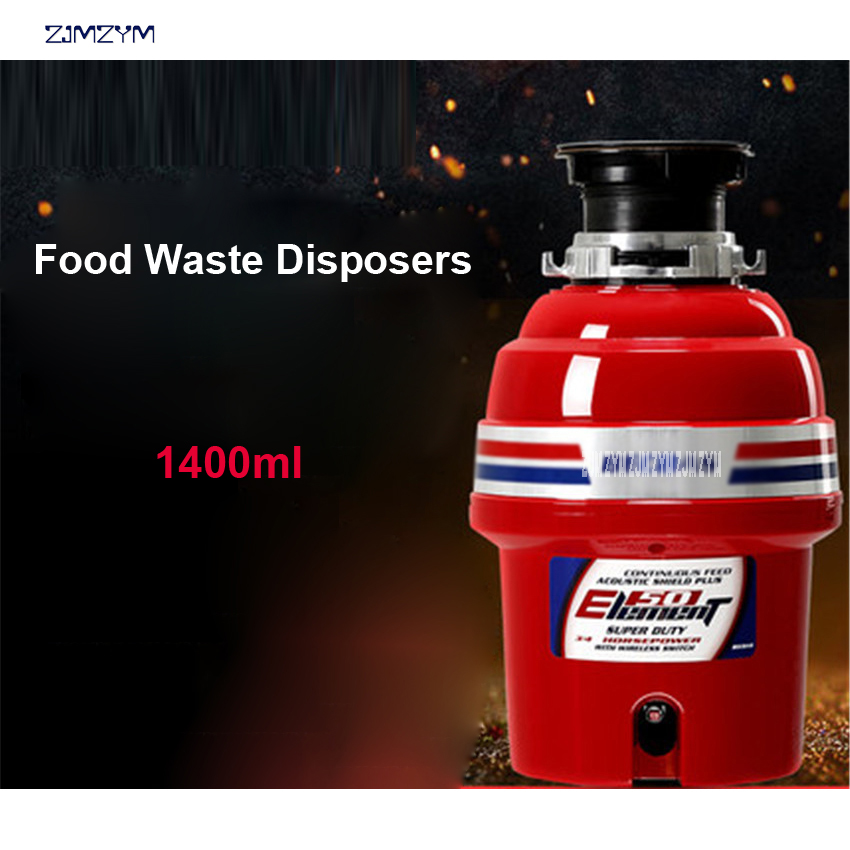 E50 Kitchen food garbage processor disposal crusher food waste disposer Stainless steel Grinder material kitchen sink appliance