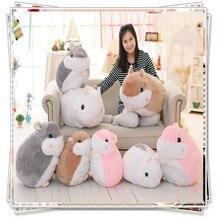 Hamster toy cute soft toy plush unicorn ty big eyed stuffed animals spongebob  kawaii plush  pillow hamster  valentine day gifts