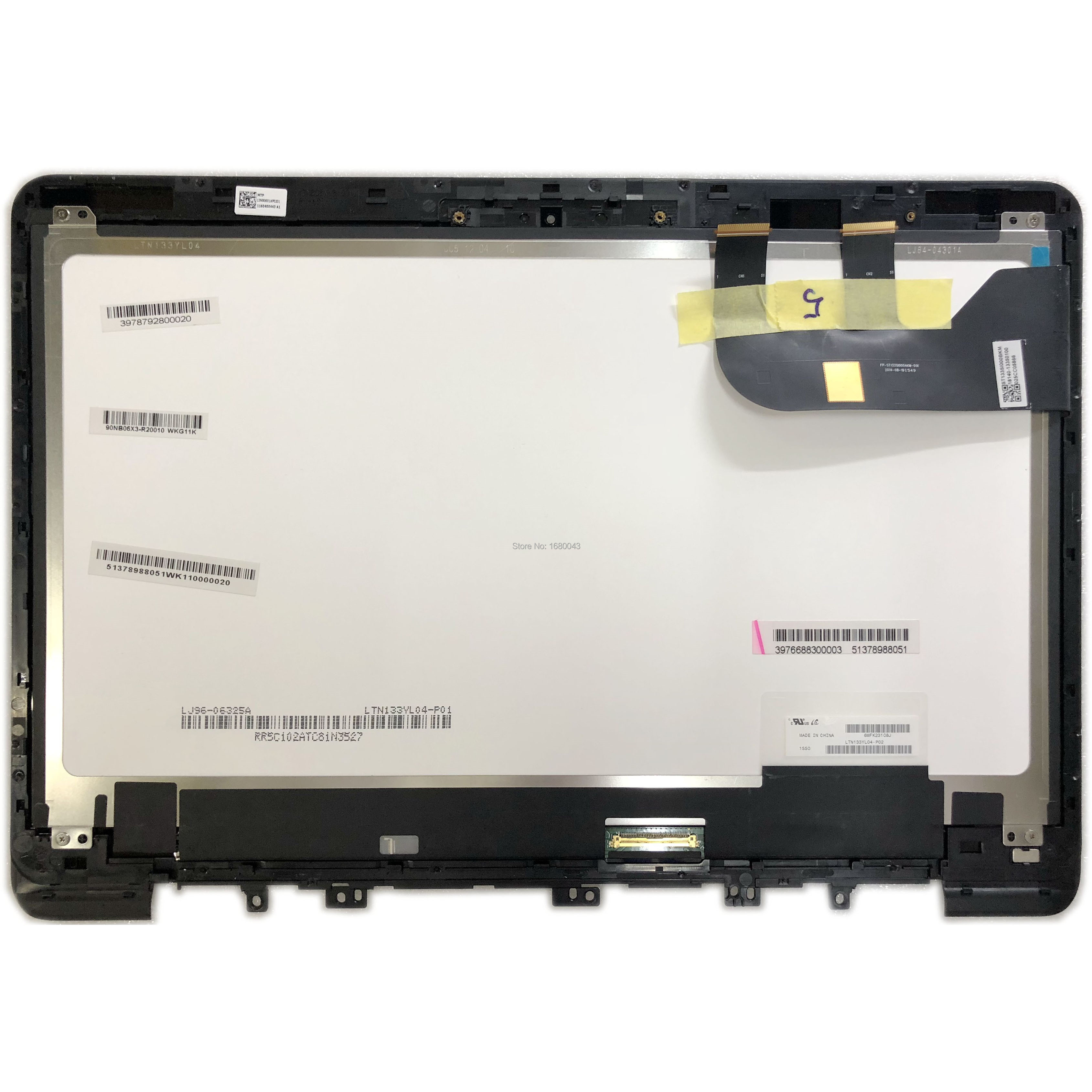 LTN133YL04 P02 LCD SCREEN Touch Screen Digitizer Assembly Frame Replacement FP-ST133SI000AKM-01X For Asus Zenbook UX305 UX305CALTN133YL04 P02 LCD SCREEN Touch Screen Digitizer Assembly Frame Replacement FP-ST133SI000AKM-01X For Asus Zenbook UX305 UX305CA