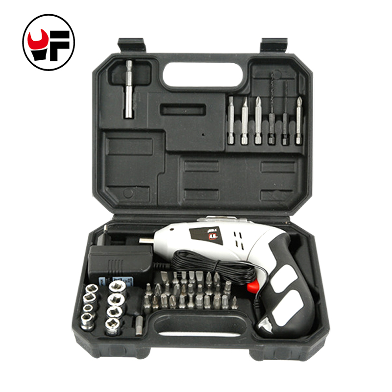 4.8V Electric Screwdriver Lithium Battery Rechargeable Parafusadeira Furadeira Multifunction Electric Drill Power Tool SetDN156R 2000mah rechargeable lithium battery pack for nds lite with screwdriver