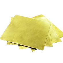 H62 brass sheet plate solid thick 0.8mm 1mm 2mm 3mm 4mm 5mm
