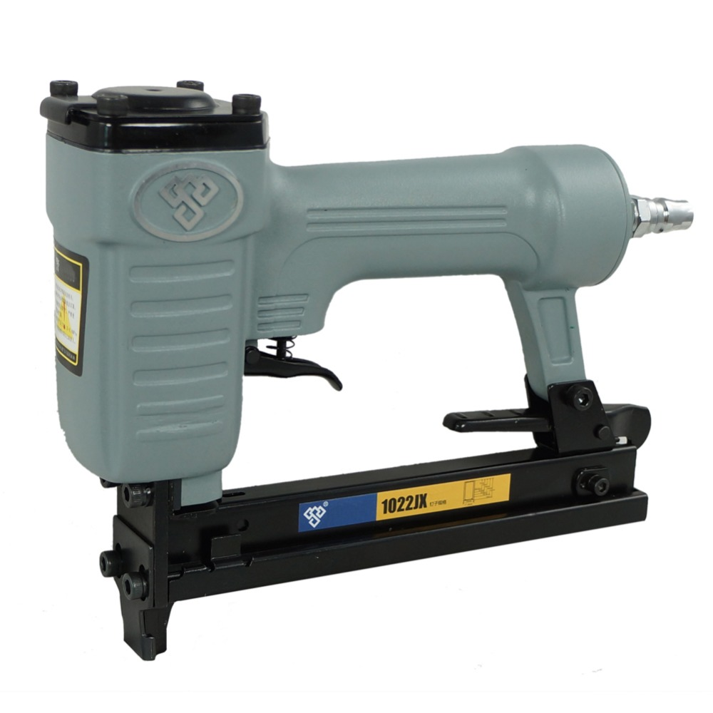 High Quality 1022JX High Quality Air Nail Gun Pneumatic Brad Nailer Kit Air Nailer Gun Straight Nail Gun Pneumatic Tools 18ga pneumatic brad nailer gun f50 not include the custom tax