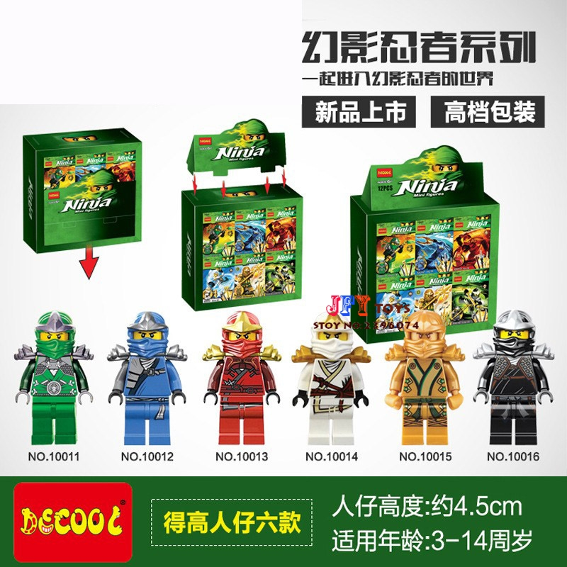 solo star wars superhero jay kai lloyd cole zane golden ninja building blocks ladrillos modelo juguetes