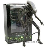 NEW Aliens 7 Scale Xenomorph Alien Action Figure Classic 1979 Movie Big Chap KO's NECA Walmart Transparent Head Toys Doll