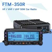 Original YAESU FTM 350R MobileRadio Transceiver UHF/VHF Dual Band Car Radio Station Professional Station FTM 350R Vehicle Radio