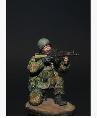 135 Scale Unpainted Resin Figure modern russian