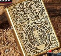 Free1  PC  high quality delivery of Constantine lighter box of kerosene windproof lighter
