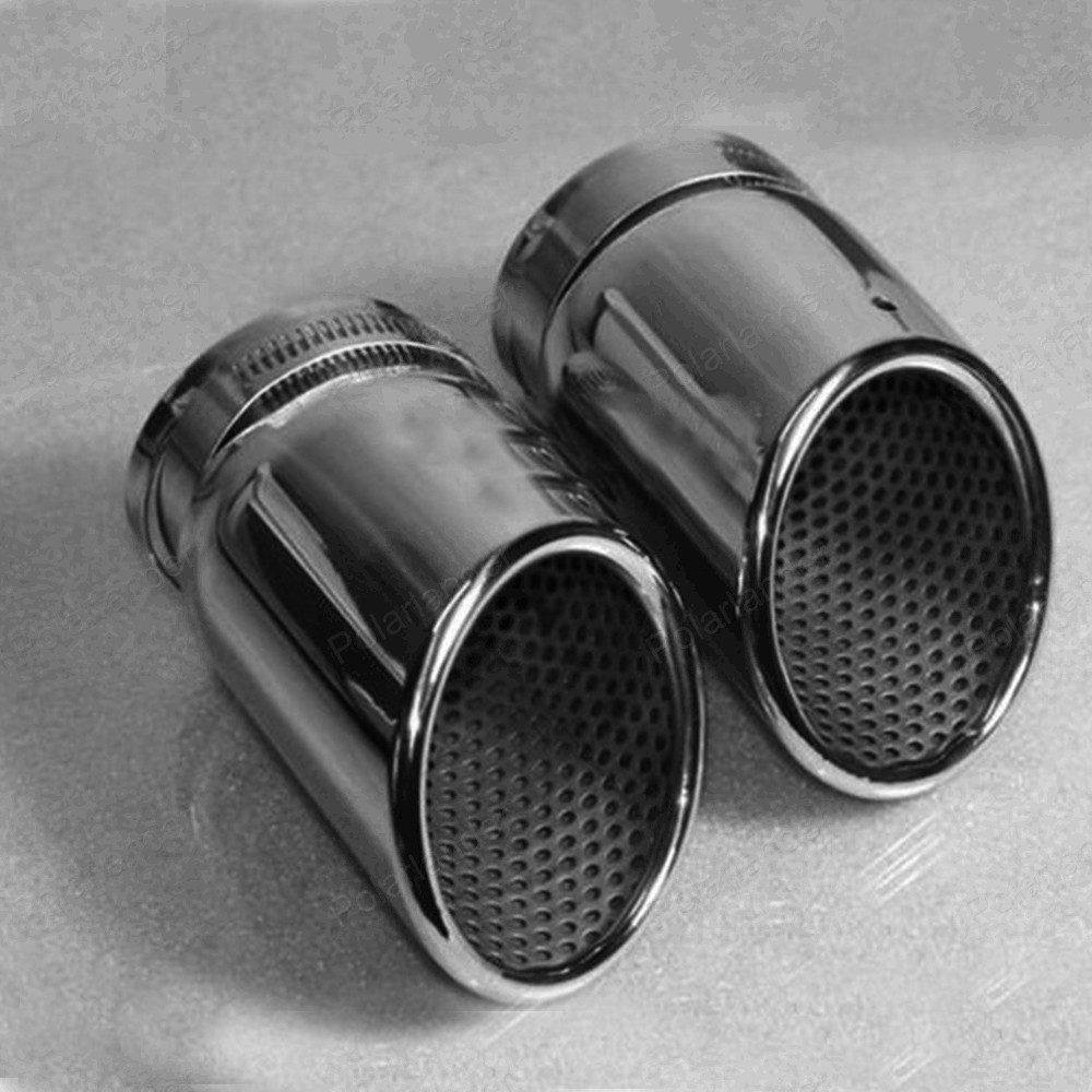 for A/udi q5 a4 b8 S/edan 2.0t v/w t/iguan 2009 -2012 Escape tailpipe chrome stainless steel car exhaust pipe muffler купить ауди q 5 2009
