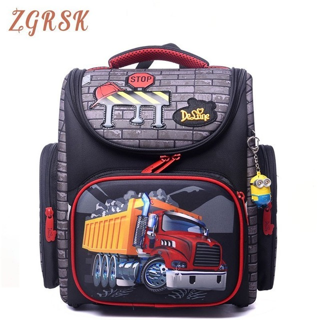Children Grade 1-4 School Back Pack Bags Satchel For Boys Primary School Backpack Orthopedic Schoolbag Children Backpacks Bag