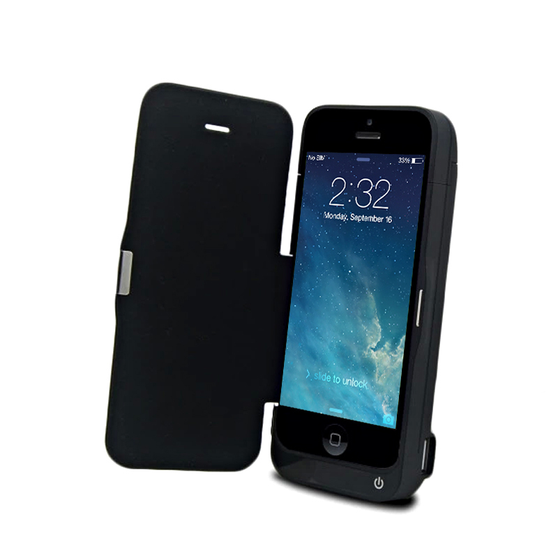 watch f4f77 eb5f1 4200mAh External Battery Backup Charging power Bank Case holder for Iphone  5 5S 5C IOS 8 9 9.2 9.3-in Phone Bags & Cases from Phones & ...