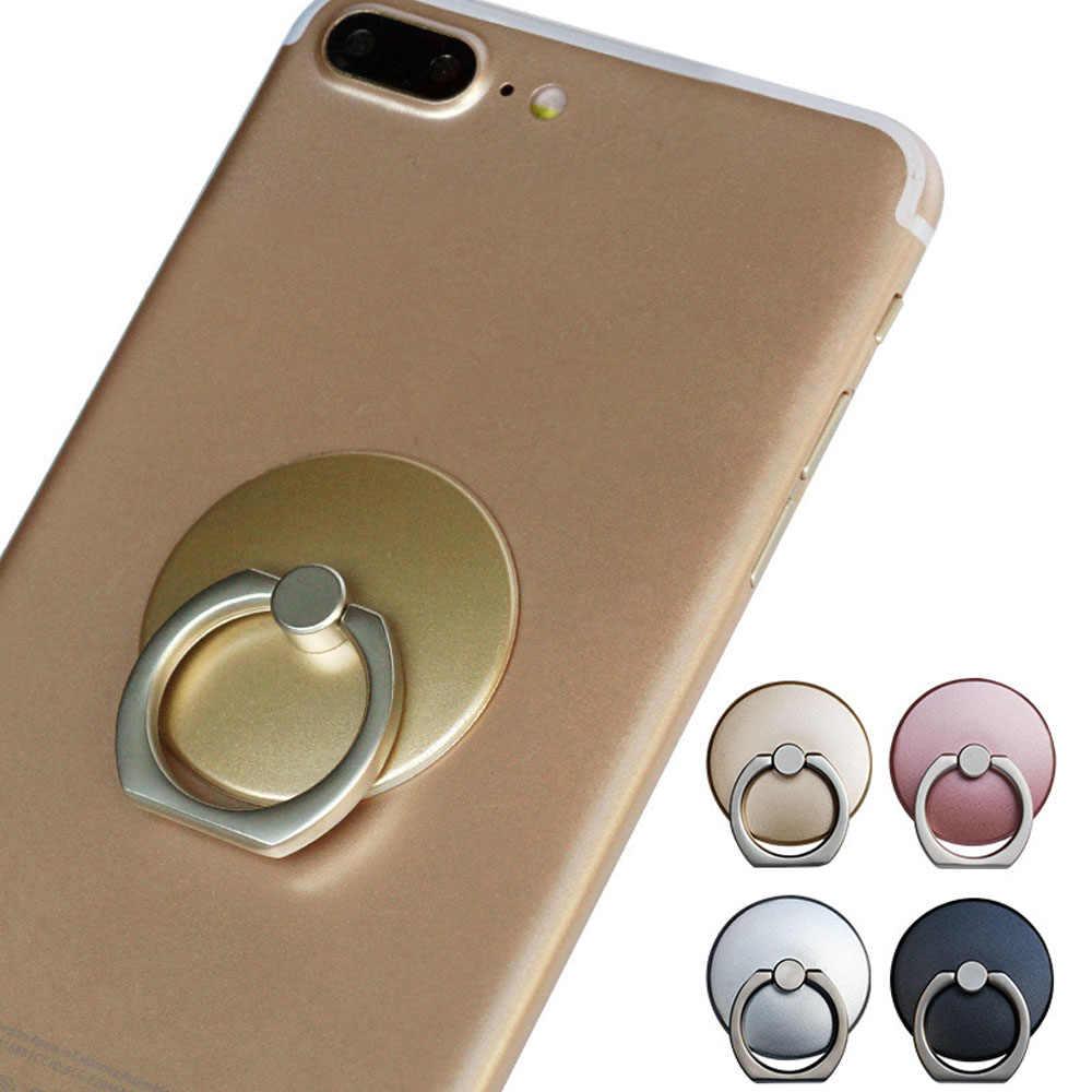חדש אצבע טבעת טלפון נייד Stand מחזיק עבור iPhone 11 פרו XS מקסימום X XR 8 7 6 6S בתוספת 5S SmartPhone IPAD Stand עבור סמסונג טלפון סלולרי