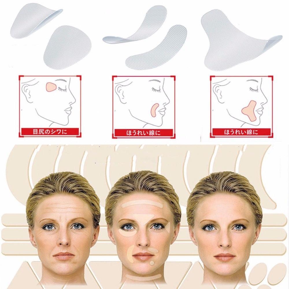 3 Types Face Lift Up Tape V-Shape Line Wrinkle Sagging Facial Line Skin Frown Smile Lift Fast Beauty Makeup Face Lift Tools3 Types Face Lift Up Tape V-Shape Line Wrinkle Sagging Facial Line Skin Frown Smile Lift Fast Beauty Makeup Face Lift Tools