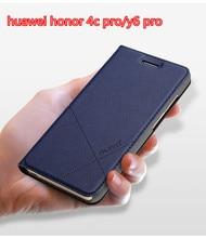 Huawei Honor 4C Pro Чехол из искусственной кожи Бизнес серии флип чехол для Huawei Honor 4C Pro (Y6 Pro) #0918 с номером отслеживания.