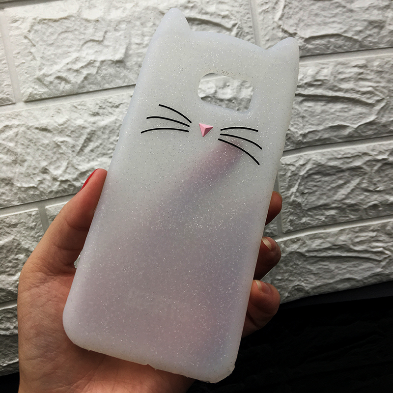 For Samsung J3 J5 2017 EU J7 pro 2017 Case Cute Cartoon Cat Cases 3D Silicone Soft Back Cover Funda For Galaxy J530 Phone Cases (12)