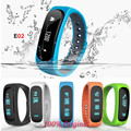 E02 Smart Watch Bluetooth Wristband Sport Bracelet Sleep Monitoring Pedometer For IOS Android for Samsung also have E06 E07 band
