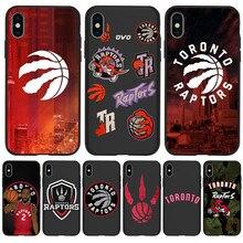 Toronto Raptors For iPhone X XR XS Max 5 5S SE 6 6S 7 8 Plus Oneplus 5T Pro 6T phone Case Cover Funda Coque Etui funda capinha