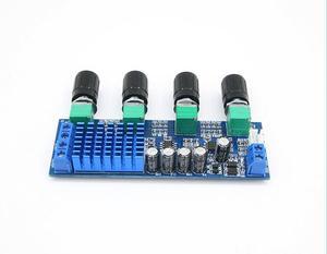 Image 4 - DC 12V 24V 80W x 2 Dual channel Digital Audio TPA3116 D2 Treble Bass Regulating Preset Pre amplifier Board Amplificador