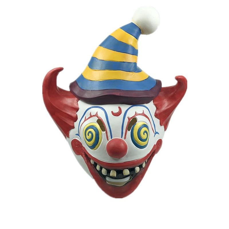 Hot Game Battle Royale Season 6 Clown Cosplay mask Full Head Latex Adult Joker Costumes Helmet