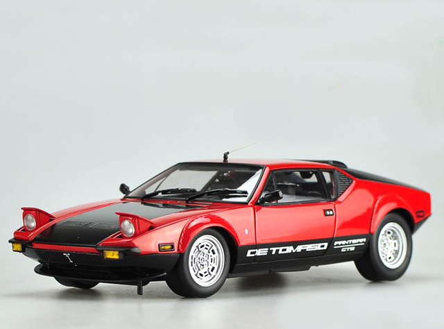 KYOSH 1:18 De Tomaso Pantera GTS modelo de coche deportivo de Aleación modelo de coche modelo de Recogida