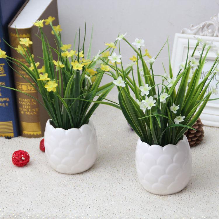 home decor mini de orqudeas flores maceta decorativa barato flor artificial navidad del banquete de