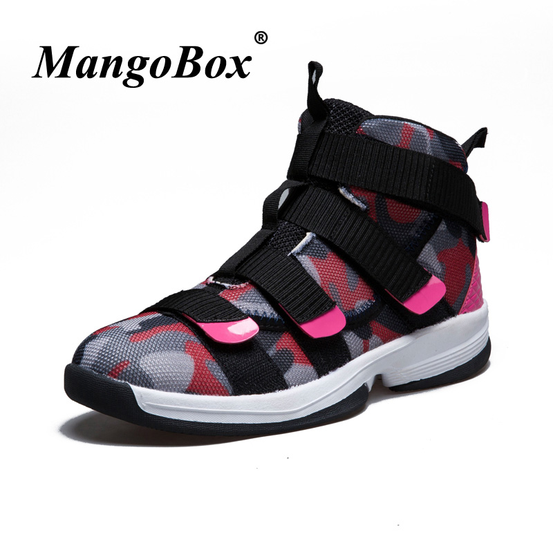 2018 Cool Ladies Basketball Shoes Comfortable Basketball Woman Sneakers Best Basketball High Tops Rose Red Womens Sneakers Boots