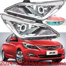 Hid, 2014 ~ 2016, Auto Styling, Verna Koplamp, Solaris, Accent, Elantra, Genesis, i10, I20, Santa Fe, Tucson, Veracruz, Lantra; Verna Head Lamp