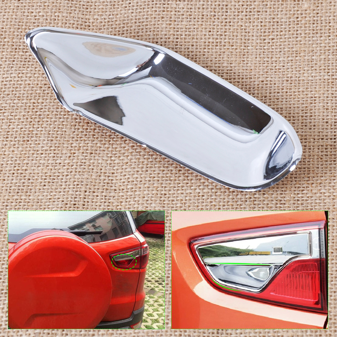 Beler Abs Chrome Finish Rear Tail Hatch Trunk Door Handle