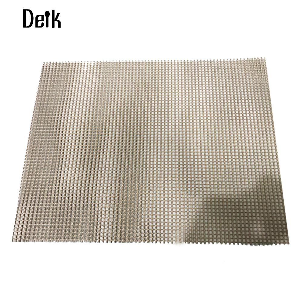 BBQ Grill Mat Barbecue Pad Barbecue Mat Non-Stick Heat Resistance Reticular Teflon Outdoor Bake Electric Barbecue Grid Pad