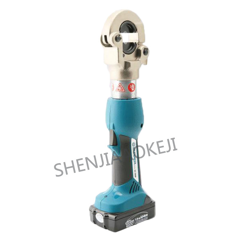 1PC Charging Hydraulic Clamp 18V Electric Crimping Pliers Copper and Aluminum Crimping Power Cable Tool EZ-300B Automatic Reset