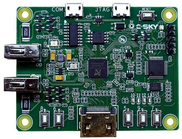 Доска развития Linux C-SKY.