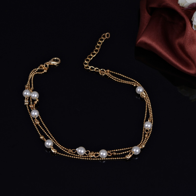 2019 New Luxury Gold Plated Pearl Ankle Foot Bracelets For. Grandma Lockets. Anniversary Sapphire. Antique Lockets. Purple Tanzanite. Award Rings. 7 Carat Rings. Channel Bands. Cultured Pearl Stud Earrings