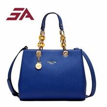 hot deal buy sa new women bags fashion pu leather handbags high quatity casual shoulder messenger crossbody totes with plastic globose handle