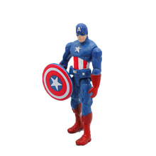 8cm Marvel avengers Endgame Movie Anime Super Heros Captain America Ironman Spiderman hulk thor Superhero PVC Figure model Toy