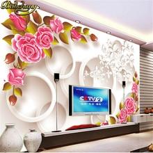 цена contact paper 3d wall murals wallpaper roll photo wallpaper for living room Tv sofa background wall paper papel de parede floral онлайн в 2017 году