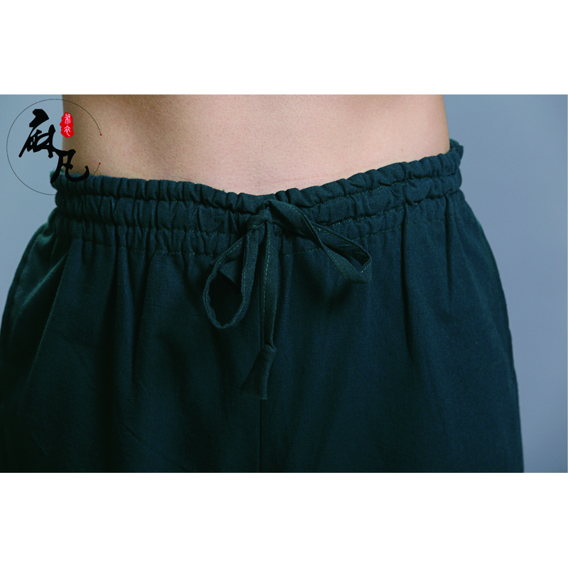 Erkekler Kung Fu Tai Chi Üniforma Pantalon Homme erkek Rahat - Erkek Giyim - Fotoğraf 5