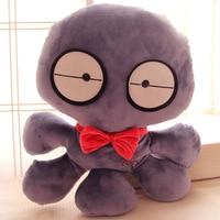Candice guo plush toy stuffed doll cartoon funny cute sea ocean animal big eye octopus baby birthday gift christmas present 1pc