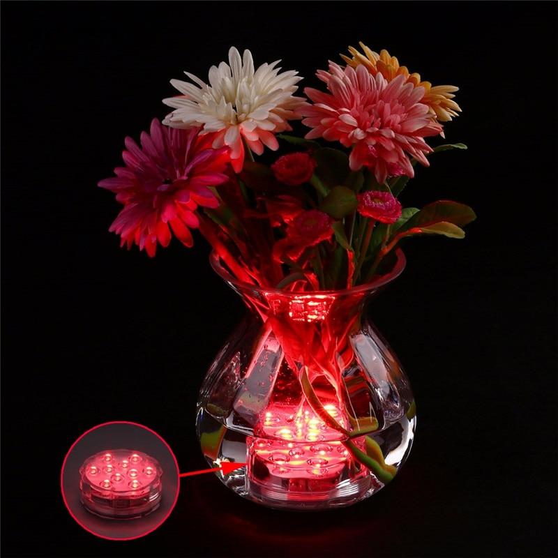 4 հատ հատ մոդուլային ստորջրյա անլար - LED լուսավորություն - Լուսանկար 6