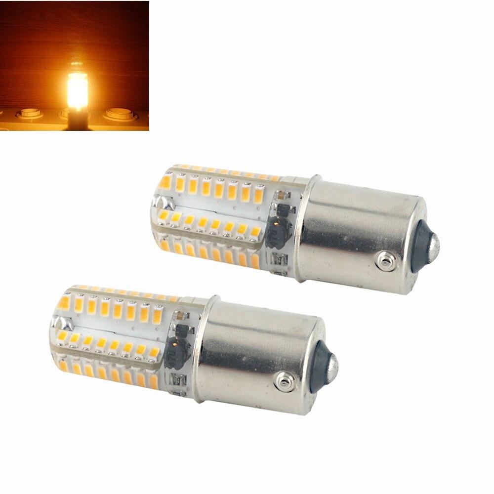 10-25V 3W 250lm DC10-20V 3W 250lm BA15S LED Corn Light Bulbs 360 Degree Beam Angle Car Tail Turn Signal Light Bulb