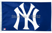 MLB New York Yankees 3×5 FT 150X90 CM Bandera 100D Poliéster bandera 1051, envío gratis