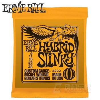 Ernie Ball 2222 Hybrid Slinky Nickel Wound Electric Guitar Strings 9-46