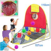 Kinder zelt Outdoor indoor schießen zelt Faltbare spielen haus Pädagogisches spielzeug haus kinder spielzeug