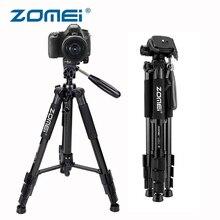 Zomei Z666 Tripod Professional Portable Travel Aluminium Camera Tripode Accessories Stand with Pan Head for Canon Dslr Cameras