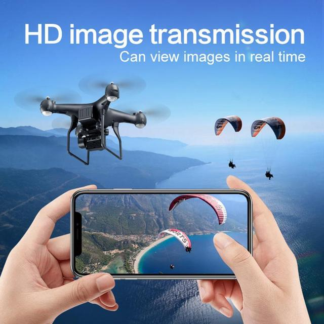 Upgraded S32T fpv Quadcopter With 4K Camera ESC HD 20mp adjustable Camera selfie Drone RC Helicopters 4-axis Aircraft flying toy 4